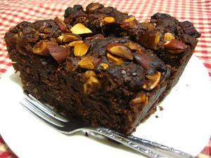 ごぼうとナッツのチョコケーキ.JPG
