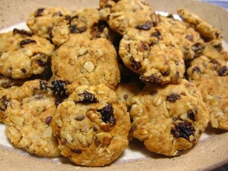 オートミールとナッツのクッキー.JPG