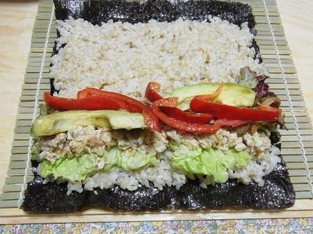 サラダ巻き寿司①.JPG