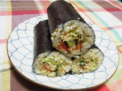 サラダ巻き寿司②.JPG