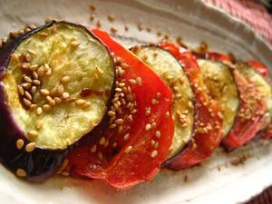 トマトとナスのグリル.JPG