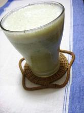 晩生菜とバナナのジュース.JPG