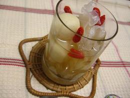 白きくらげと豆乳団子.JPG