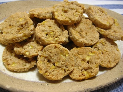 りんごとシナモンのソフトクッキー.JPG