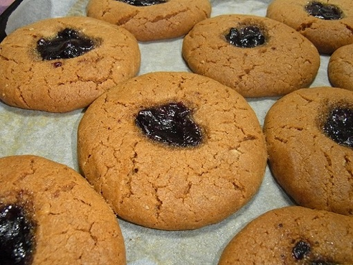 peanut butter cookies⑤.JPG